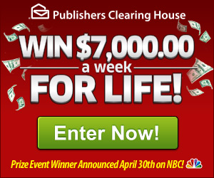 Win $1,000 A Week for Life –    Gift Ideas and Deals !