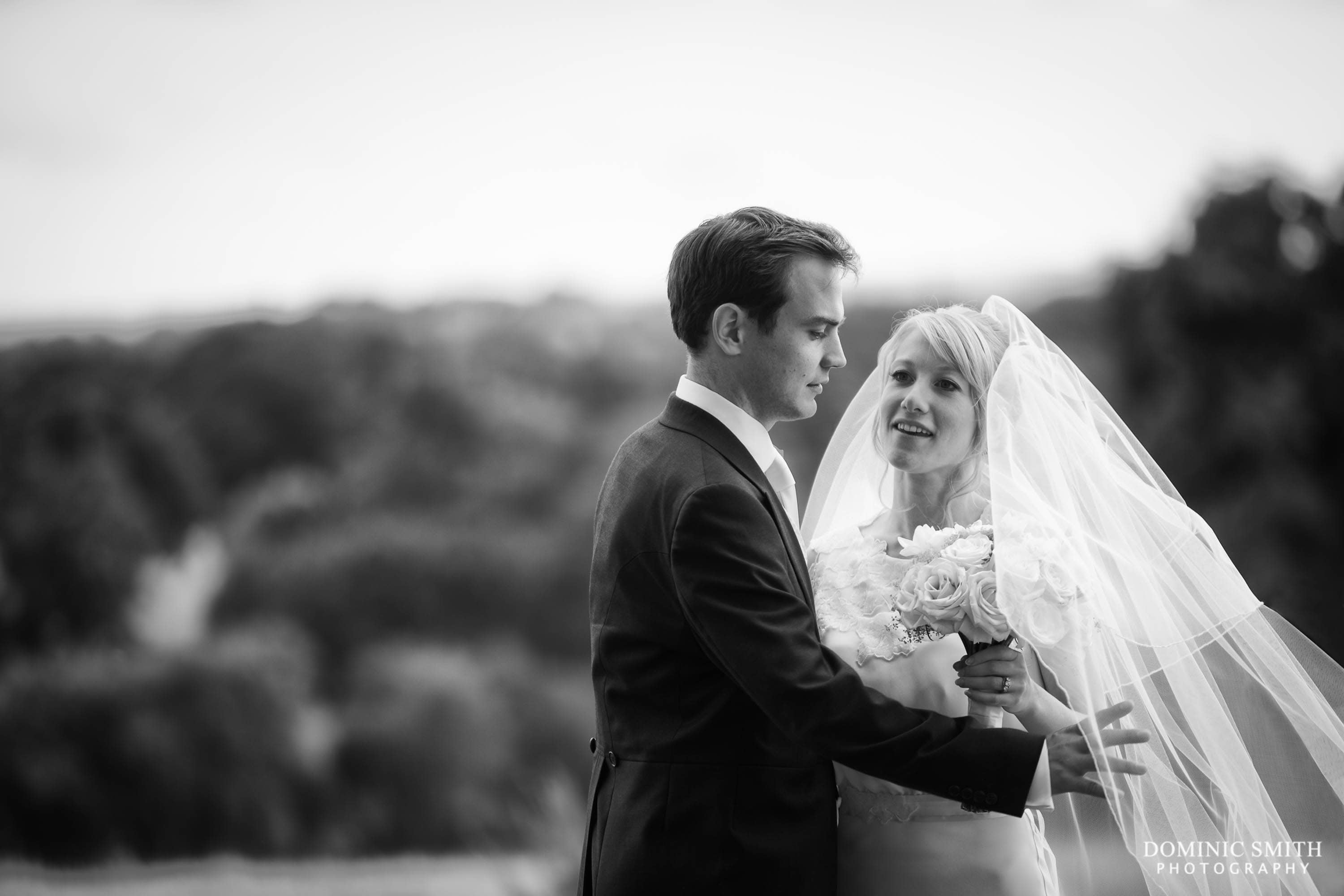 Wedding Couple photo at South Lodge Hotel