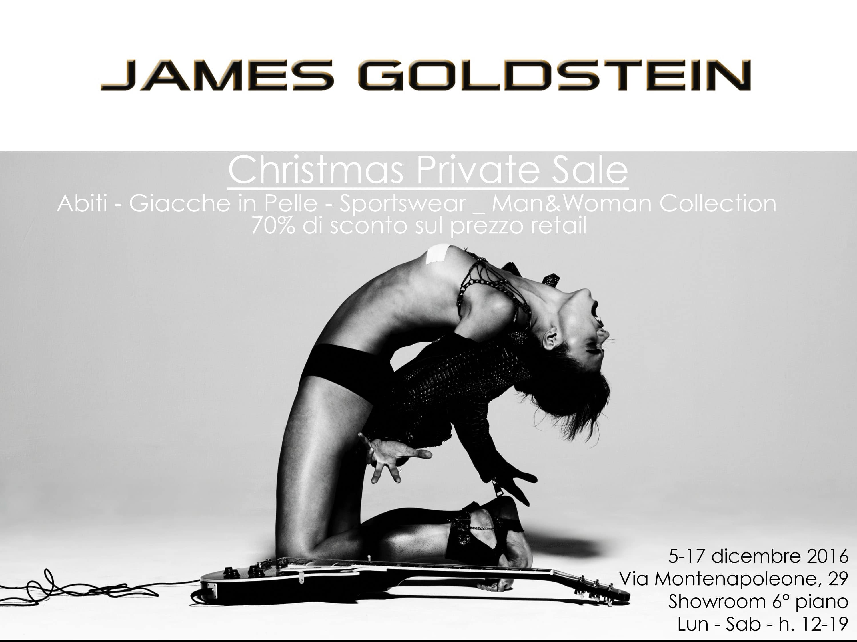 private sale james goldstein