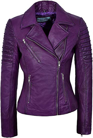 Smart Range soft leather biker jacket | 40plusstyle.com