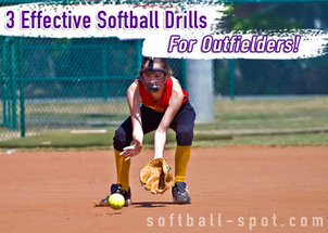 softball drills for outfielders
