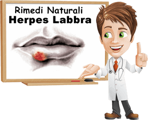 HERPES ORALE SINTOMI E CURA 2