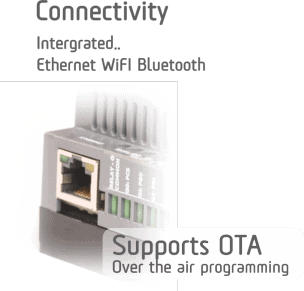 Norvi Devices Connectivity with Bluetooth and Ethernet