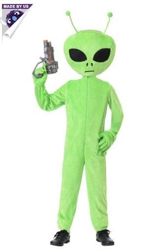 kids alien costume