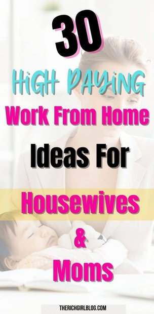 Work from home ideas for uneducated housewives and moms...
