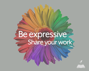 Be expressive and share your creations.