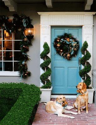 EARLY FESTIVAL DOOR PORCH DESIGN AND DECOR IDEAS