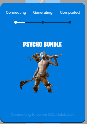 process to get Psycho Bundle Skin code.