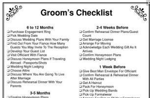 grooms-checklist