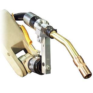 Image of 600 amp robotic water cooled MIG gun