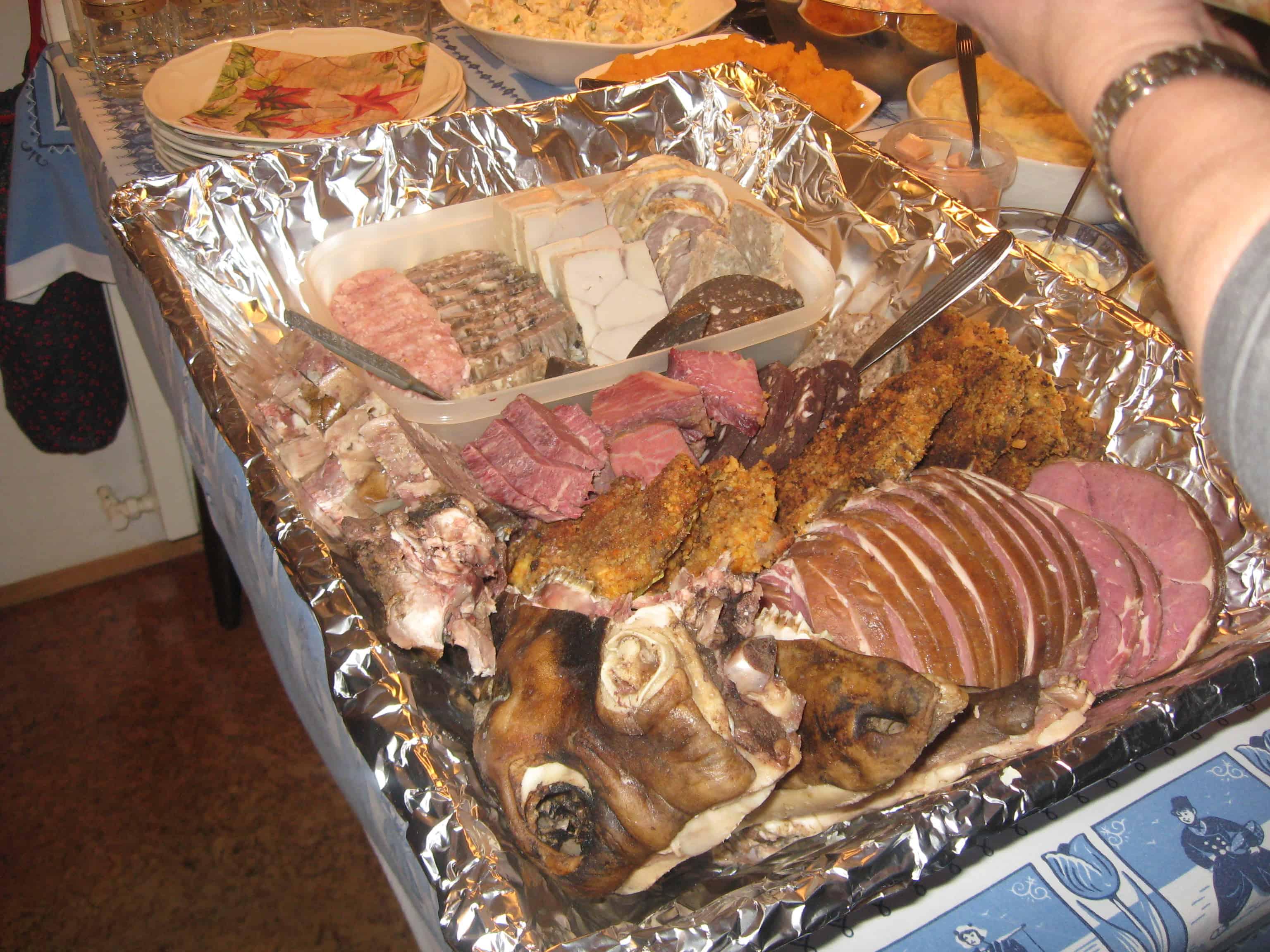 þorrablót - Icelandic traditional food