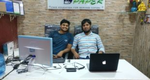 <strong>India's Best Educational Website Started by Sharoz Dawa & Sandeep Kumar</strong>