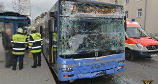 Unfall 2 MVG-Linienbusse