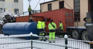 Wärme-Nothilfe für Nürnberg - Stadtwerke München liefern drei mobile Heizzentralen