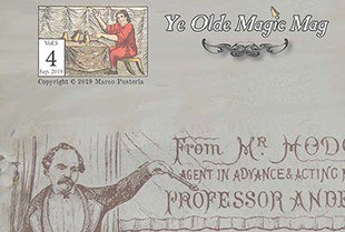 Ye Olde Magic Mag Volume 5 Issue 4