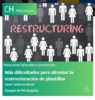REESTRUCTURACIÓN DE PLANTILLAS. CAMBIO EN EL CÓMPUTO DEL PERIODO.