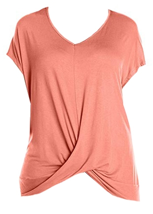 t-shirt to hide your belly | 40plusstyle.com
