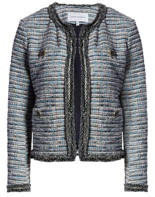 A Chanel-style jacket | 40plusstyle.com