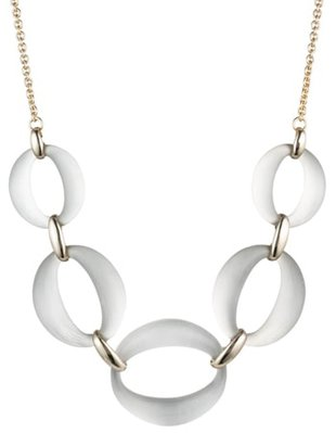 Alexis Bittar link necklace | 40plusstyle.com