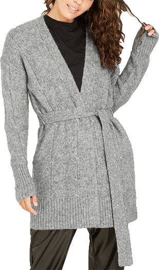 Target A New Day™ belted open front cardigan | 40plusstyle.com