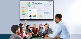 écran interactif pour le Label Ecoles Numériques