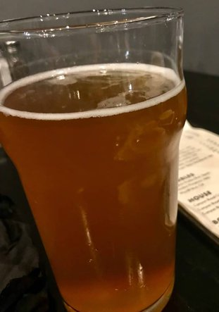 image of tangerine wheat beer at Cascadia Public House
