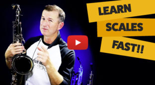 How to learn scales on saxophone