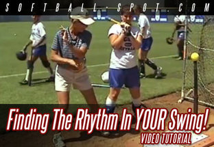 finding the rhythm in your swing SOFTBALL VIDEO TUTORIAL