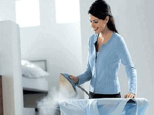 Как правильно гладить паром?