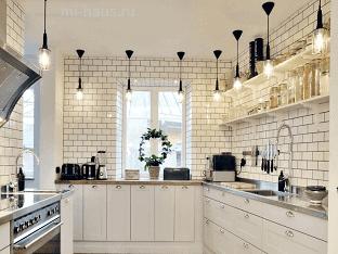 Как правильно оформить освещение кухни?