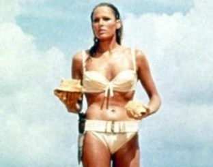 25 Things to Know About James Bond in Jamaica - Ursula Andress at Laughing Waters Beach