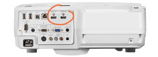NEC Video Projector Connectics