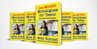 One-Minute Monologues for Teens by Mike Kimmel Book Review Image