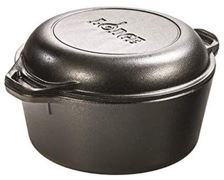 5. Lodge L8DD3 Cast Iron Dutch Oven