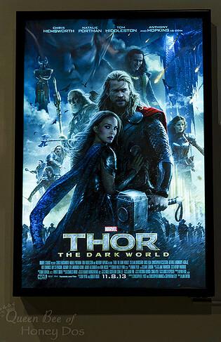 DIY Lighted Movie Poster Box