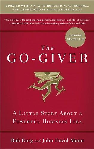 Titelblatt der englischsprachigen Ausgabe von The Go-Giver von Bob Burg und John David Mann.