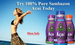 Try 100% Pure Sambazon Acai