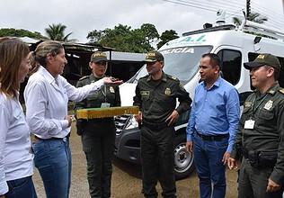Photo of EQUIÓN entregó un CAI Móvil para el corregimiento del Morro