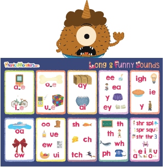 long vowel wall chart