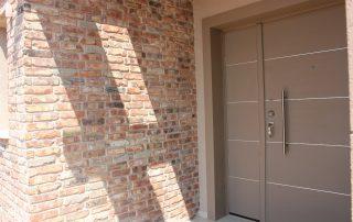 בריקים מפירוק ענתיק צר - חיפוי קירות חיצוניים