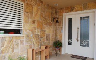 בריק אבן טבעית צהוב - חיפוי קיר חיצוני