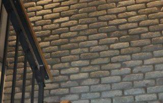 בריק רטרו שאטו פלאטין - חיפוי קירות פנימיים