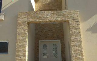 שאטו מונטילייה - חיפוי קירות חיצוניים
