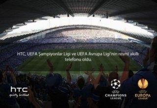 HTC, UEFA Şampiyonlar Ligi ve UEFA Avrupa Liginin Telefon Tedarik Ortağı Oldu