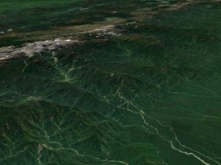 tectonics images from google earth
