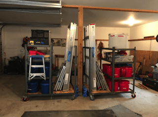 storage for two Em2 stream tables