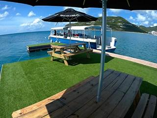 SNUBA Sint Maarten Platform and Overtaker