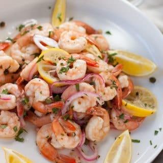 Southern Style Pickled Shrimp Appetizer
