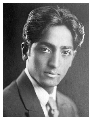 Picture of Jiddu Krishnamurti was sourced from the Wikimedia Commons and is reproduced under a Creatvice Commons licence.