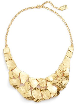 Karine Sultan statement necklace | 40plusstyle.com